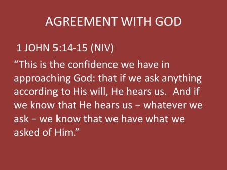 1 John 5--14-15