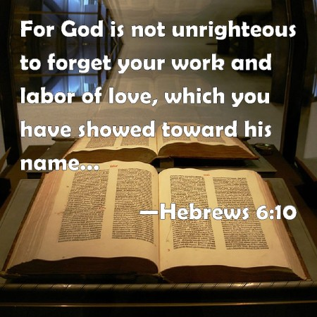 Hebrews 6--10
