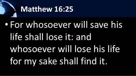 Matthew 16--25