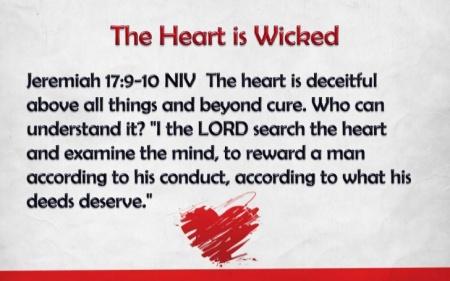 Jeremiah 17--9-10