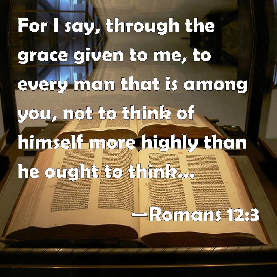 Romans 12--3