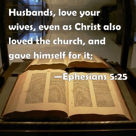 Ephesians 5--25