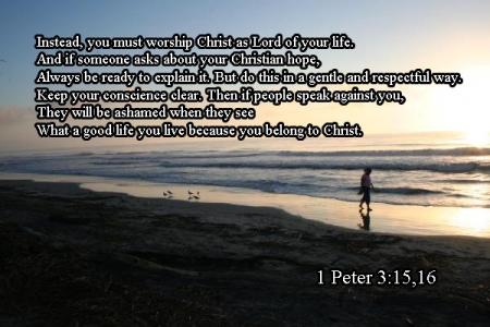 1 Peter 3--15