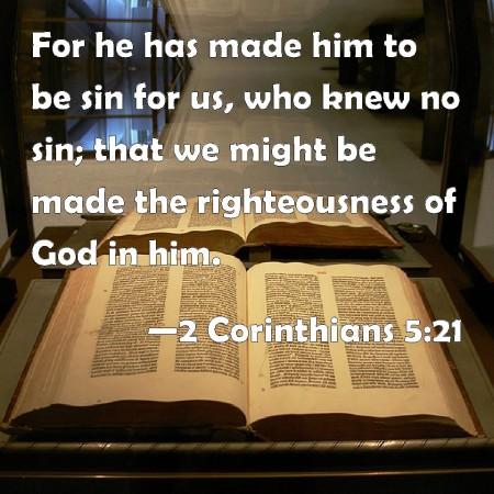 2 Corinthians 5--21