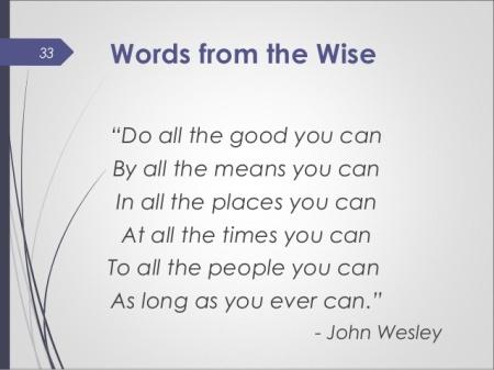 John Wesley Quote