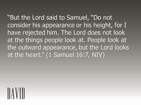 1 Samuel 16--7