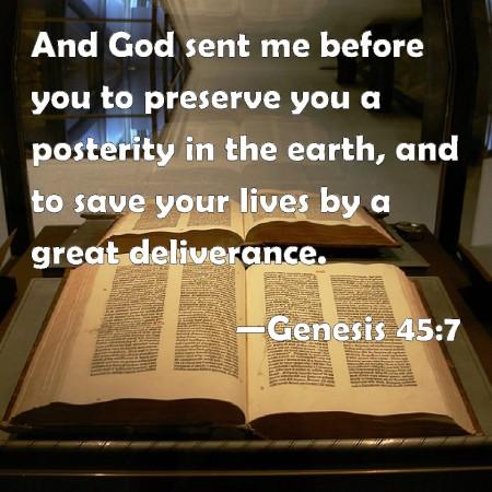 Genesis 45--7
