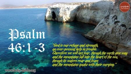 Psalm 46--1-3