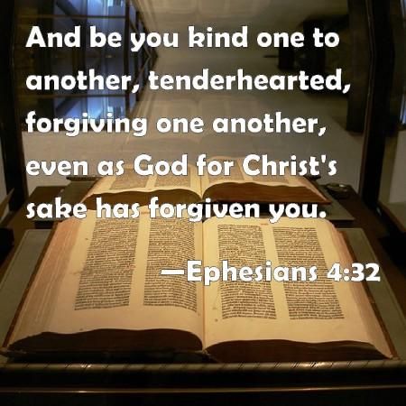 Ephesians 4--32