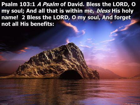 Psalm 103--1-2