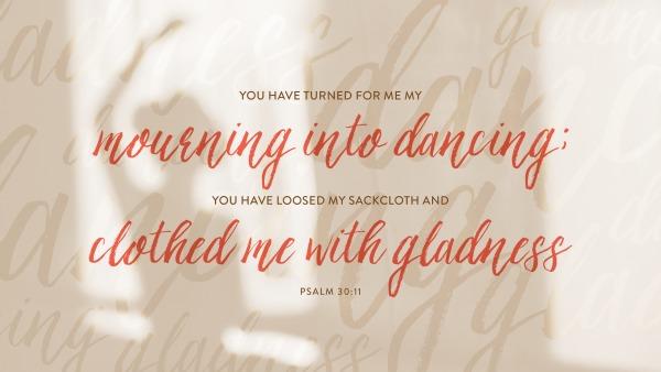 Psalm 30--11